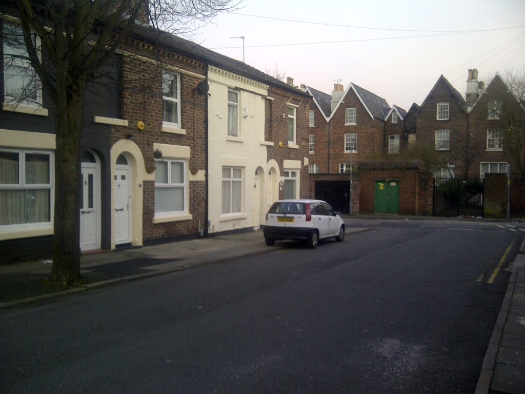 Treborth Street, Pengwyrn Street and Treborth Street (above) have been recently renovated. Less than 1 in 5 are boarded up, but they are currently due for demolition.
