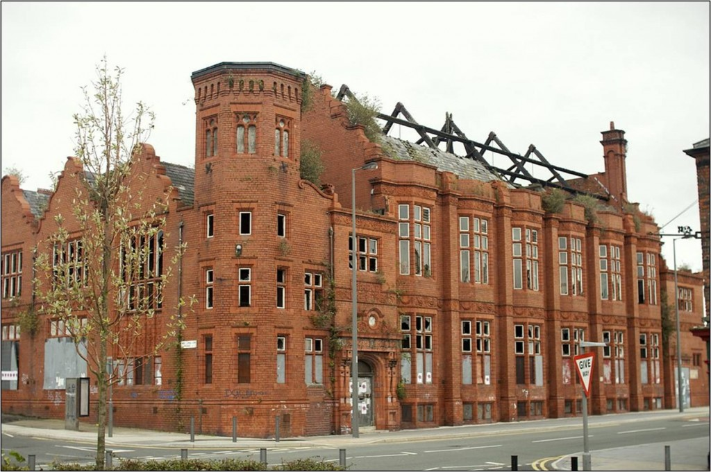 Liverpool's Florence Institute was derelict for 20 years before its restoration between 2008 and 2012.