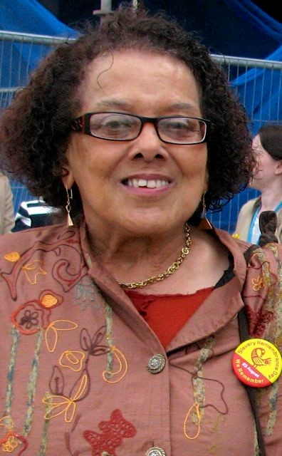 Picture of Granby resident and campaigner Dorothy Kuya