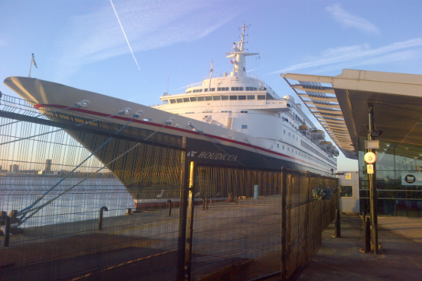 Cruise Liners Come Home to Liverpool