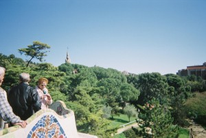 Gaudi's sublime Parc Guell in Barcelona. Pic: Wikipedia.