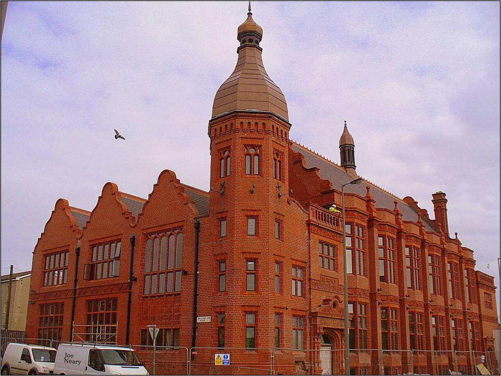 The Jacobean style Florence Institute, Liverpool 8