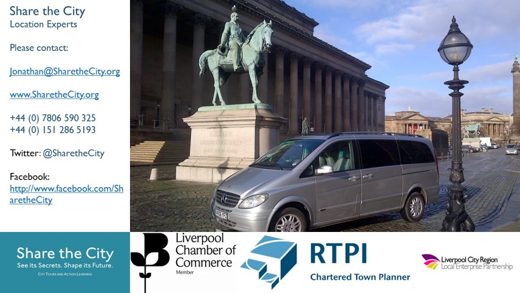 Contact details for Share the City fam tours and location expertise