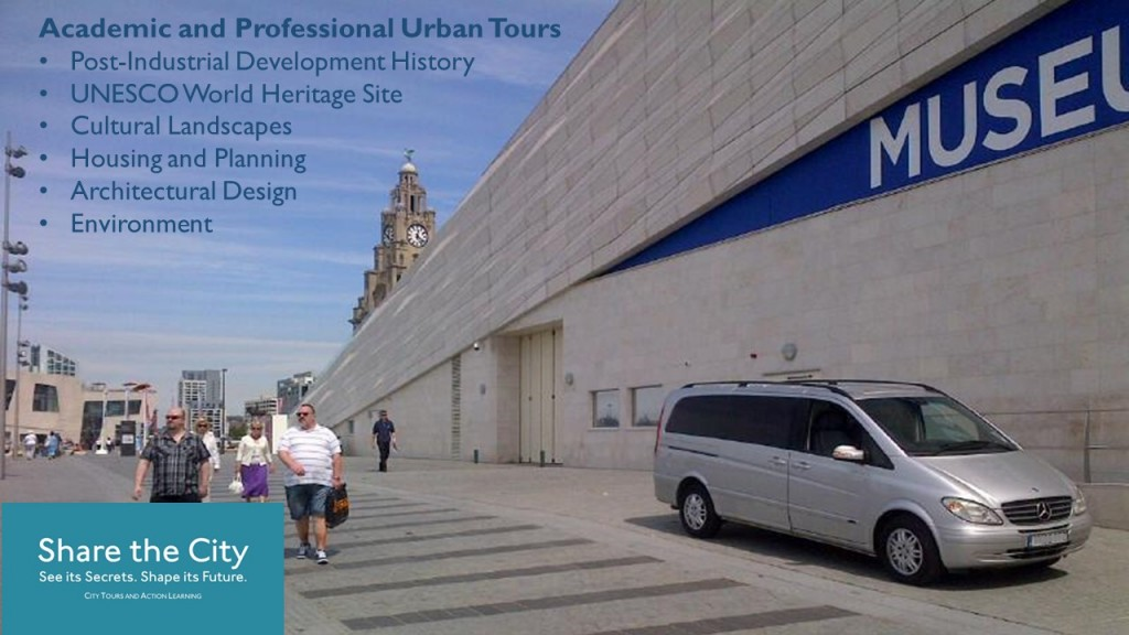 Share the City private Liverpool tours and luxury transfers