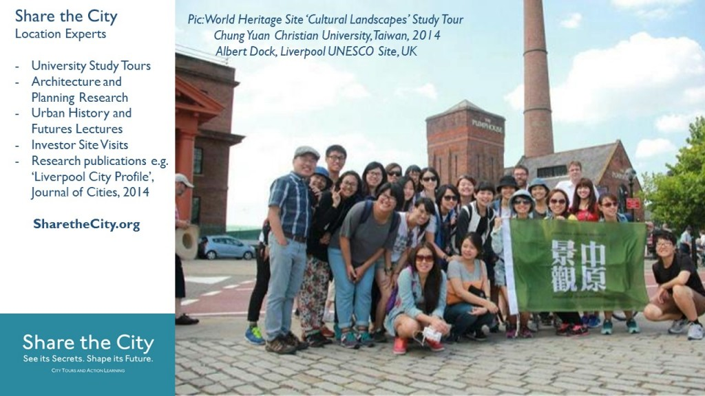 Share the City run university tours like this for Taiwanese post-graduate planning and landscape architects